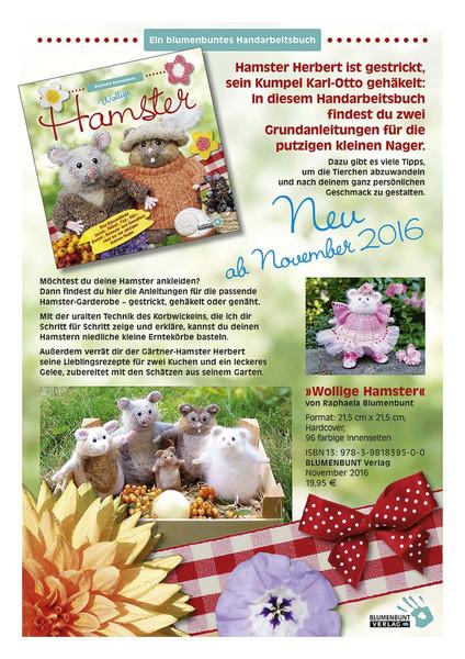 Wollige Hamster Blumenbunt Verlag