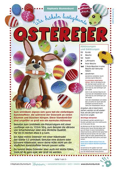 Gratis Anleitung Lustigbunte Ostereier Blumenbunt Verlag