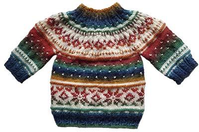 Lorins weihnachts pullover mit zipfelm tze blumenbunt verlag - Strickanleitung weihnachtspullover ...
