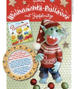 Lorins Weihnachts-Pullover mit Zipfelmütze
