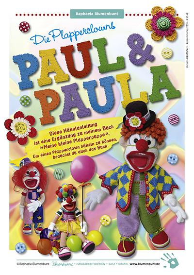 PAUL & PAULA Plapperclowns von Raphaela Blumenbunt · Titelseite