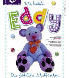Häkelteddy EDDY – Blumenbunt Spendenaktion 2019