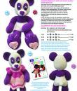 Blumenbunt: Variante Pandabär