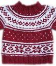 Weihnachtspullover Rot