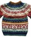 Bunter Pullover von Susanne Rißeler